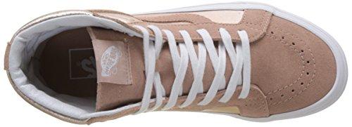 Vans Sk8-Hi Reissue, Sneaker Donna Rosa (2-tone Metallic/ Mahogany Rose/true White)