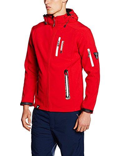 Geographical Norway Herren Jacke Tevet Men Color Rot