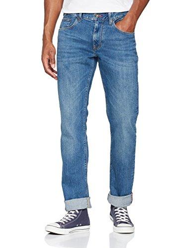 Tommy Hilfiger Herren Straight Jeans Mercer-STR Atlanta Blue, Blau 911, W34/L34
