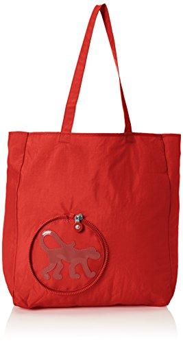 Kipling Cooper NEW, Shopper Donna Rosso (78G Red Rust)