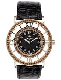 Yonger pour elle DCC 1539/08 - Reloj , correa de cuero color azul