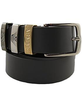 Armani Jeans Gürtel Damengürtel Belt Leder B5122 taupe