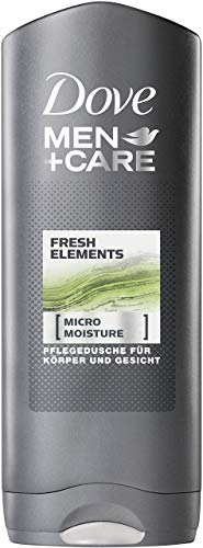 DOVE Men + Care Fresh Elements Duschgel, 6er Pack (6 x 250 ml)