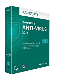 Kaspersky Anti-Virus 2014 - 1 PC