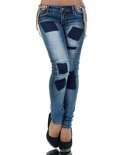 diva-jeans-jeans-skinny-basic-donna-blau-xl-48