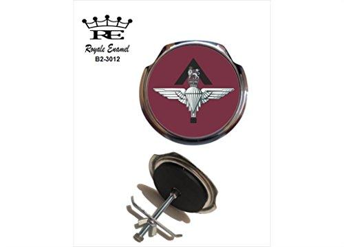 Preisvergleich Produktbild Royale Emaille Royale Car Grill Badge – Parachute Pathfinder Platoon B2. 3012