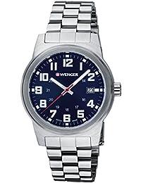 WENGER Herren-Armbanduhr Analog Quarz Edelstahl 01.0441.139