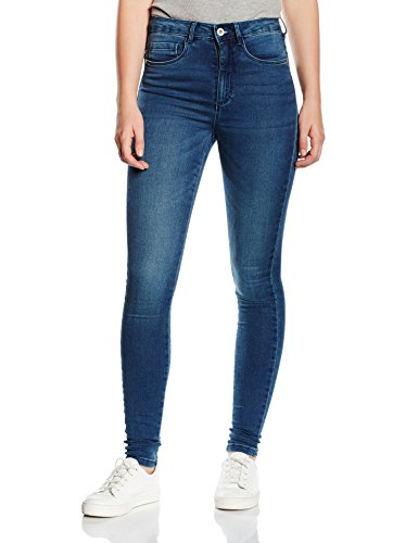 ONLY Damen Skinny Jeanshose Onlroyal High Jeans Pim504 Noos, Gr. 42/L32 (Herstellergröße: XL), Blau (Medium Blue Denim) (Stretch Damen Hose)