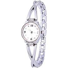 JUNGEN Reloj de Pulsera de Cuarzo para Mujer con Correa de Aleación Fina, Reloj de