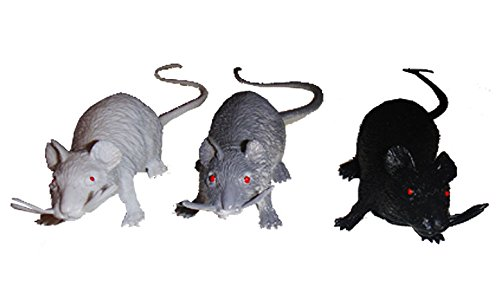 9 Horror Ratten Super schaurige Halloween Monster Tierchen -