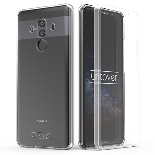 Urcover Hülle kompatibel mit Huawei Mate 10 Pro I 360 Grad R&um-Schutz Full Cover [Unbreakable Case bekannt aus Galileo] Crystal Clear Full Body Case Handy-Tasche Schale - Transparent