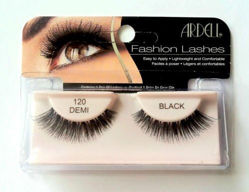 Ardell Fashion & Accent Wimpern 100% Echthaar keine 120Schwarz (Wimpern 100 Echthaar)