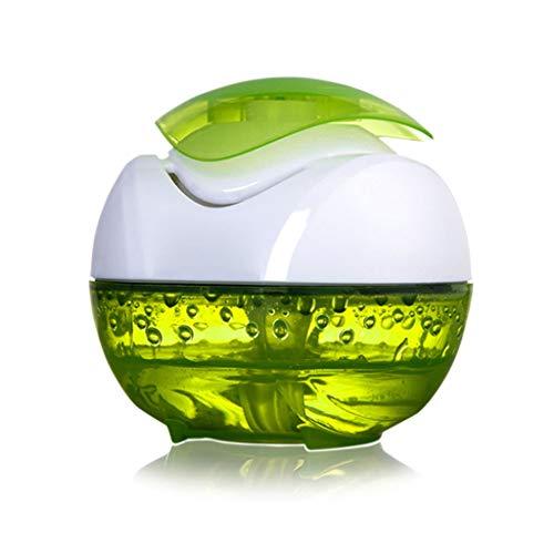 Diffuseurs d'huiles essentielles Diffuseur d'arôme, humidificateur ultrasonique de brume fraîche, purificateur d'air d'eau, 100ML (Couleur : Green)