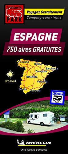Carte des aires gratuites Espagne