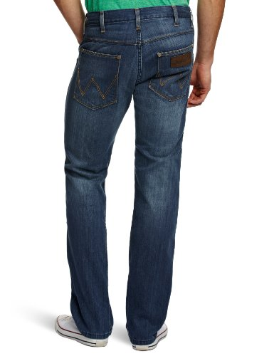 Wrangler Herren Jeans, Crank Sporting Blue Blau