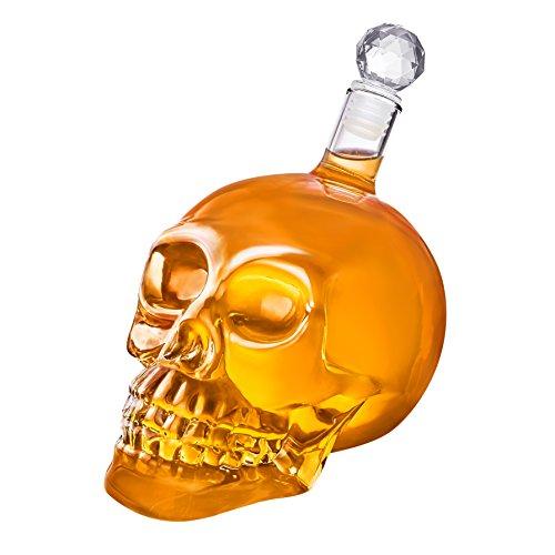 s Glas in den Varianten 350ml, 550ml und 1000ml - mit Korken und detaillierter Optik (350 ml) ()