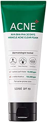 SOME BY MI ACNE AHA-BHA-PHA 30 Days Miracle Acne Clear Foam, 100 ml