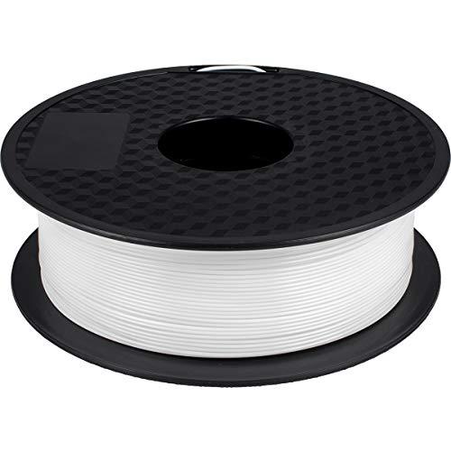 GIANTARM Filamento PLA de 1.75 mm, PLA Impresión 3D filament 1kg Spool Blanco