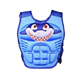 WISHKEY Whale Character Training Life Jacket Swim Aid Floater Life Vest ,Kids Swimming