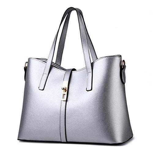 Sacchetto di trasduttore auricolare di Hobo del messaggero delle nuove borse della borsa del sacchetto di spalla della borsa Argento