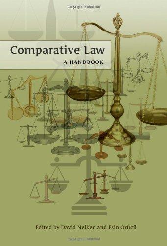 Comparative Law: A Handbook