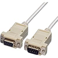 VALUE RS232 Kabel DB9, ST/BU, 3m