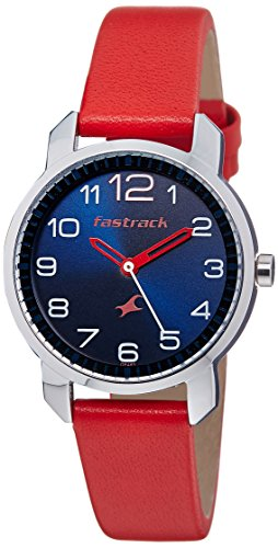 Fastrack 6111SL02 Blue Dial Women's Analog Watch image