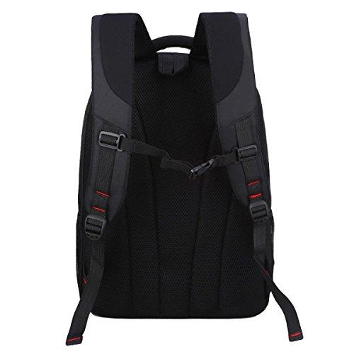 Multifunktionale Herren Schultertasche Computer Tasche Business - Paket Freizeit Mode Student Rucksack Reisetasche Red