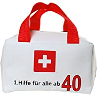 18 30 40 50 60 70 Geburtstag 1.Hilfe Tasche Partyspass Geburtstagsgeschenk  Partygag Leer