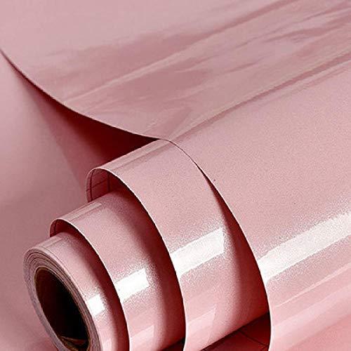 ACCEY Möbel selbstklebende Tapeten für moderne Schrankwände Vinyl- Rolle Rot Grün Blau Cenefas Adhesivas Cocina @ Pink_3_square_meter