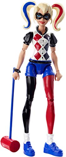 Mattel DMM36 - DC Super Hero Girls Harley Quinn Aktions-Figur (Dc-spielzeug)
