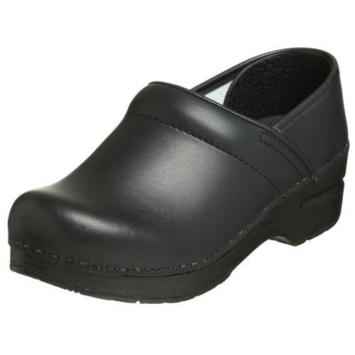 Dansko Professional Leder Pantoletten Schuhe Black