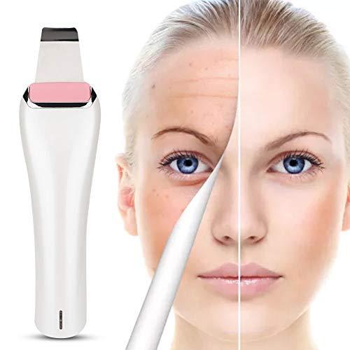 DD&k Ultraschall Haut Scrubber Haut Gesichts Peeling Poren Reiniger + Ion Hautpflege Massage mit Mitteser Poren Akne Feine Linien Falten für Haut - Feine Peeling-reiniger