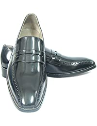 Stylish Italian Calf Leather Slip On Shoes With Handmade Neolite Sole, Leather Insole, Leather Lining And Memory...