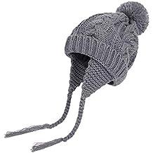 479279b779d9e K-youth Chic Caliente Sombreros Bebé Invierno Gorras Bebé Recién Nacido Sombrero  de Punto Niña