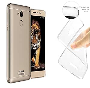 eCosmos || COOLPAD NOTE 5 || Branded Perfect Fitting High Quality Ultra Thin Transparent Silicon Back Cover (Transparent)