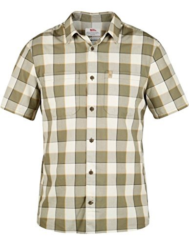 Fjällräven High Coast Big Check Shirt Short Sleeve - Kurzarmhemd Chalk White (113)