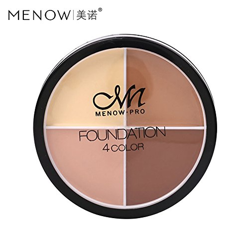 MENOW Paletas Correctores Maquillaje Crema Base Cremosa