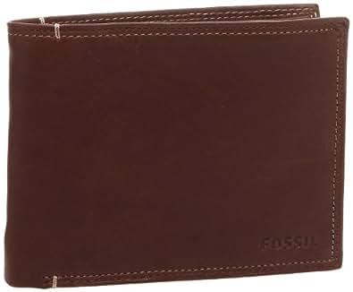 Fossil International Traveler Geldbörse Portemonnaie Bridle Braun