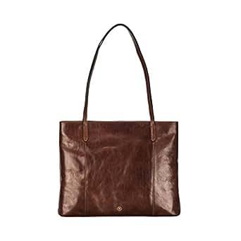 Tan Large Leather Shopper