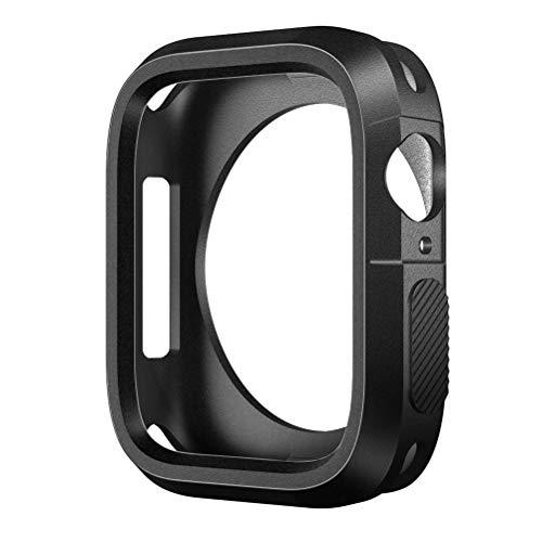 SLEO Funda Apple Watch Silicona Anti Gota Anti Rasguña