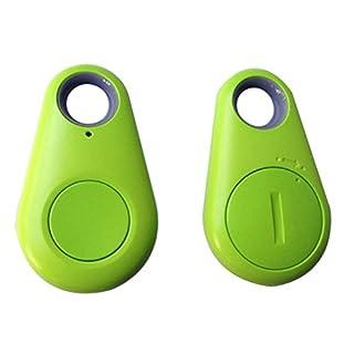 Bluetooth-Ortungssensor, kabellos, für Kind, Haustier, Tasche, Geldbörse, Schlüssel, GPS-Anhänger grün