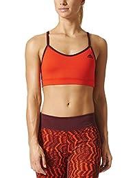 adidas Strappy Bra Sol Sujetador Deportivo, Mujer, Rojo (Rojbas), XL