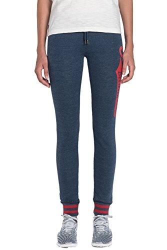 Franklin-Marshall-Trousers-PFWVA718AMW16-For-Woman-With-Print-Adjustable-Waist-Drawstring