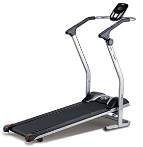 JK Fitness MF100 Tapis Roulant Magnetico, Argento