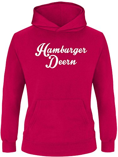 EZYshirt® Hamburger Deern Kinder Hoodie