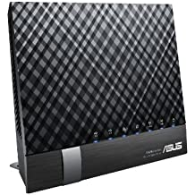 ASUS RT-AC56U - Router inalámbrico AC1200 Dual-band Gigabit (punto de acceso, USB, soporta 3G/4G)