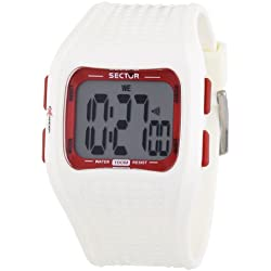 Sector 'Expander' Men's Watch Digital Quartz with White Resin Strap - R3251172015