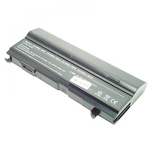 Batterie, Li-Ion, 10.8 V, 8800 mAh, noir, Double Capacité pour Toshiba Satellite A100-442