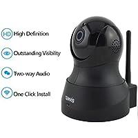 Tenvis TH661 Cámara IP de seguridad en HD 720p 1280x720 H264 - Alarma detección de movimiento - Motorizado - Visión Nocturna - Bidireccional sonido - Aplicación teléfono y Manual en Español